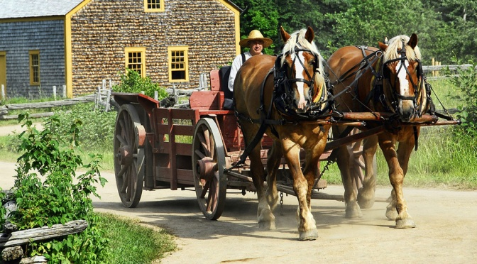 Matching the horses on our wagon – Integrating the spiritual and physical realities